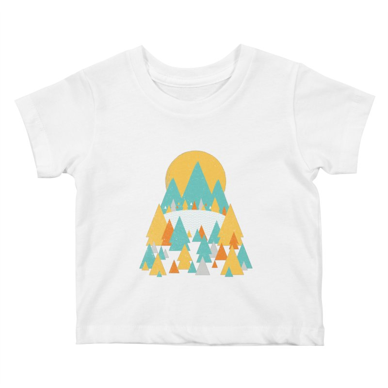 Magicland Kids Baby T-Shirt by Rocket Artist Shop