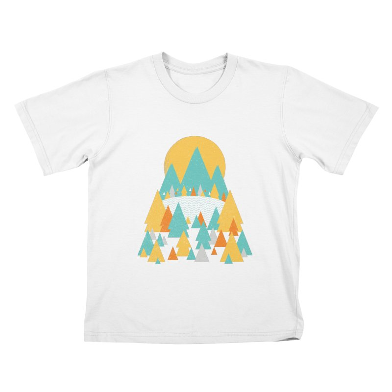 Magicland Kids T-Shirt by Rocket Artist Shop
