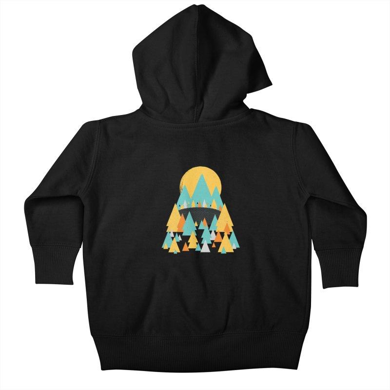 Magicland Kids Baby Zip-Up Hoody by Rocket Artist Shop