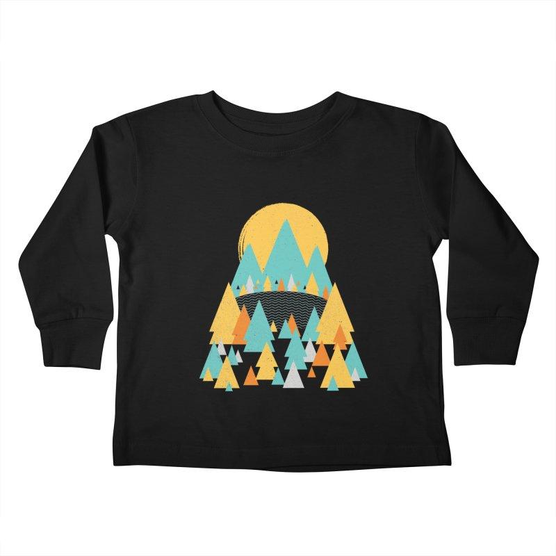 Magicland Kids Toddler Longsleeve T-Shirt by Rocket Artist Shop