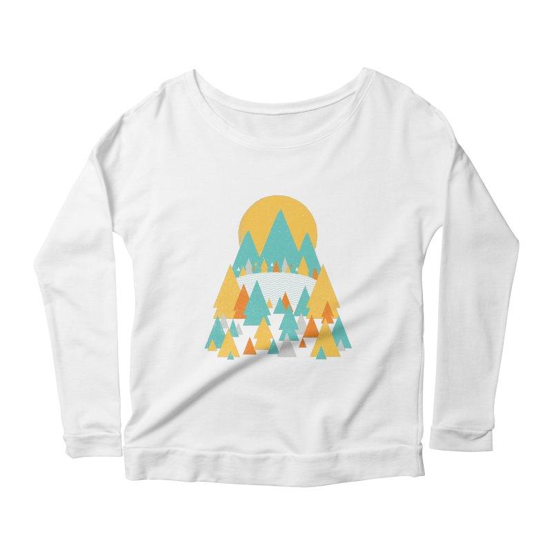 Magicland Women's Scoop Neck Longsleeve T-Shirt by Rocket Artist Shop