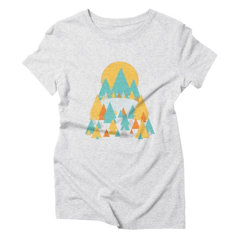 Magicland Women's Triblend T-Shirt by Rocket Artist Shop