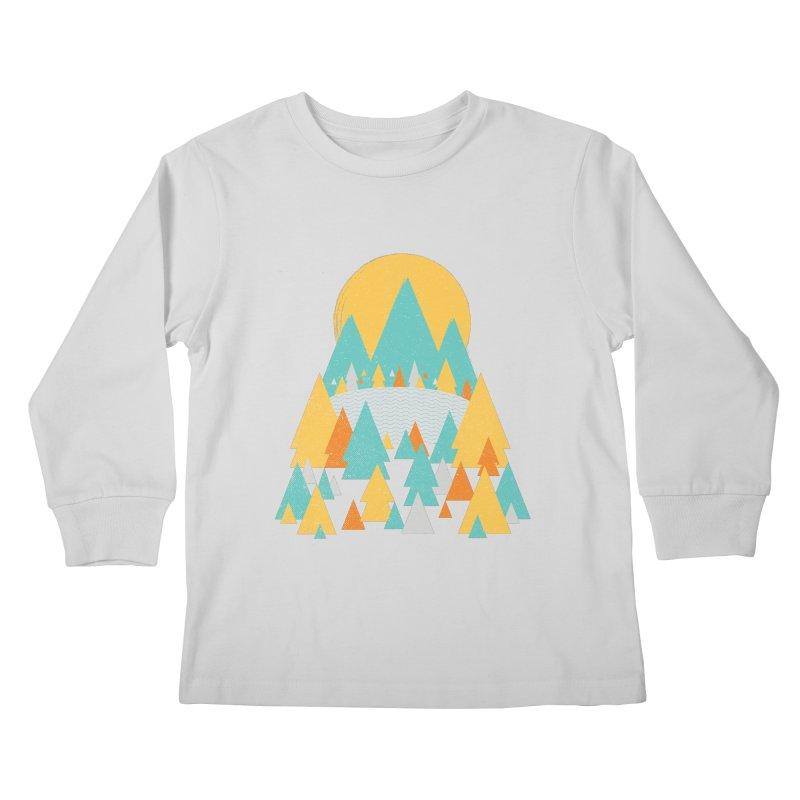 Magicland Kids Longsleeve T-Shirt by Rocket Artist Shop