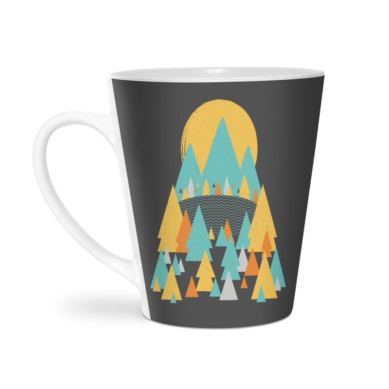 Magicland Accessories Latte Mug by Rocket Artist Shop