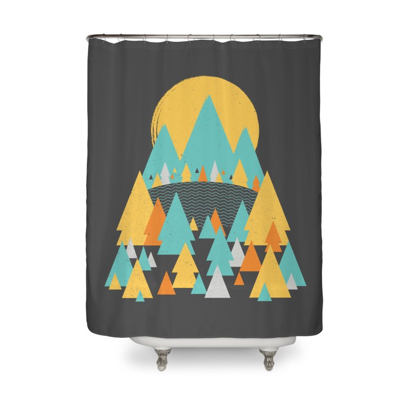 Magicland Home Shower Curtain by Rocket Artist Shop