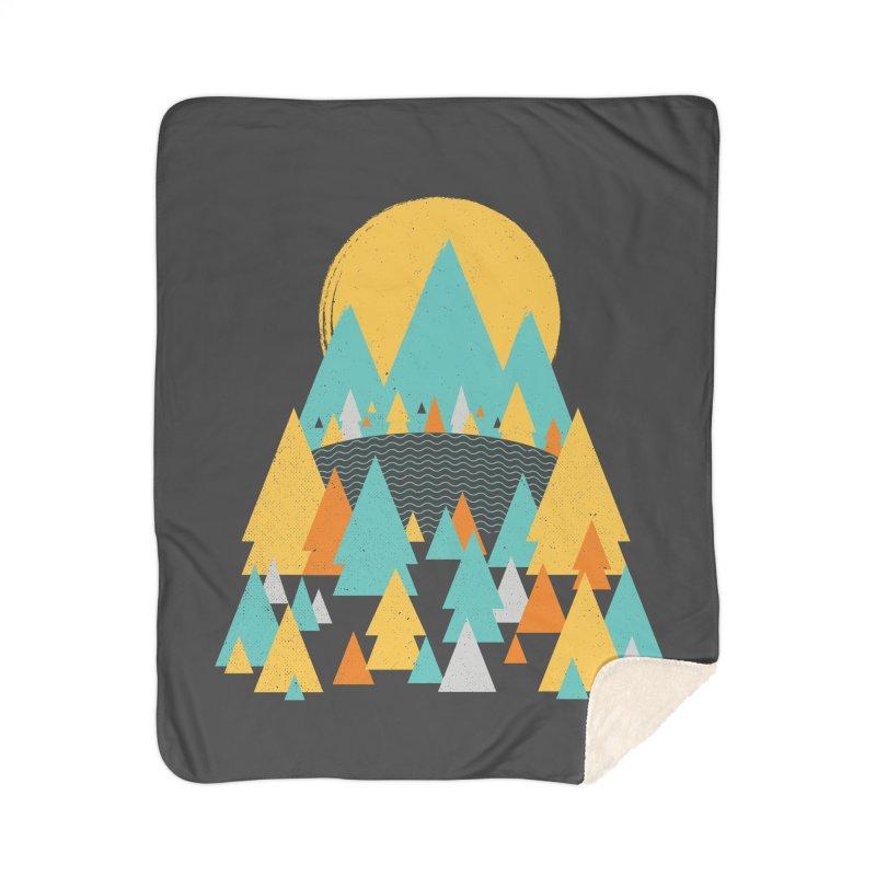 Magicland Home Sherpa Blanket Blanket by Rocket Artist Shop