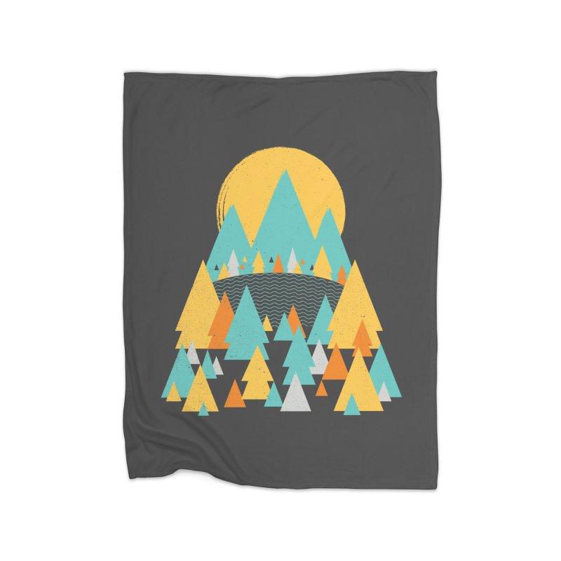 Magicland Home Fleece Blanket Blanket by Rocket Artist Shop