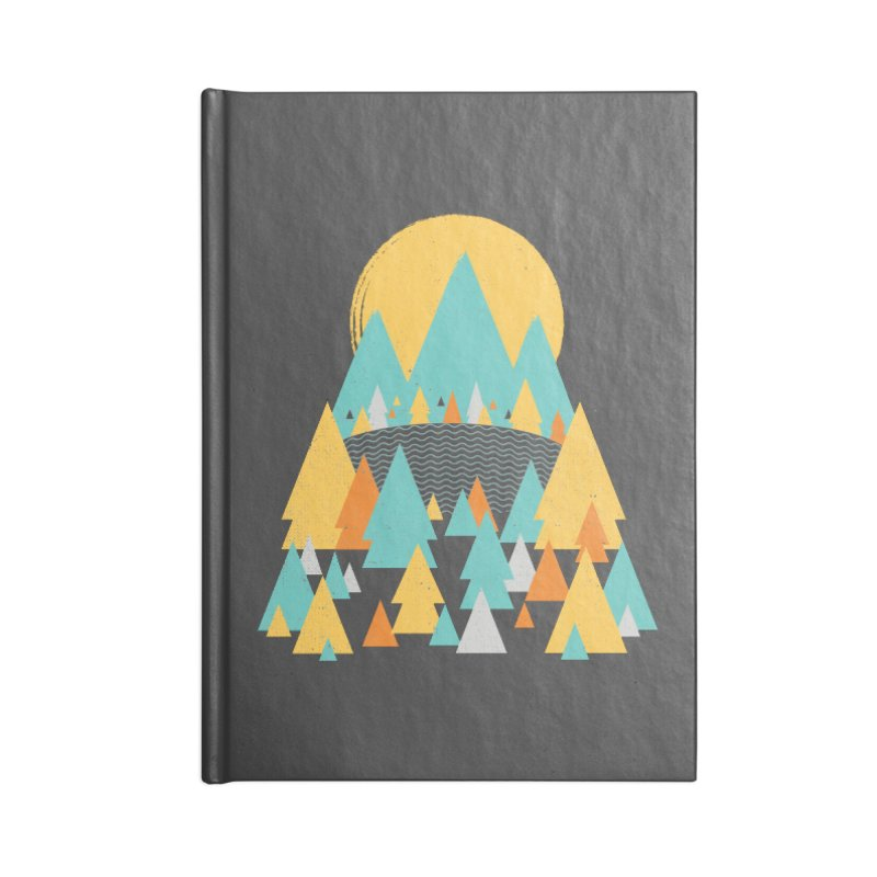 Magicland Accessories Blank Journal Notebook by Rocket Artist Shop