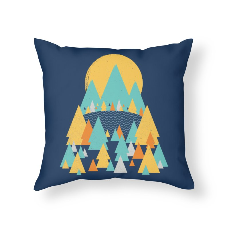 Magicland Home Throw Pillow by Rocket Artist Shop
