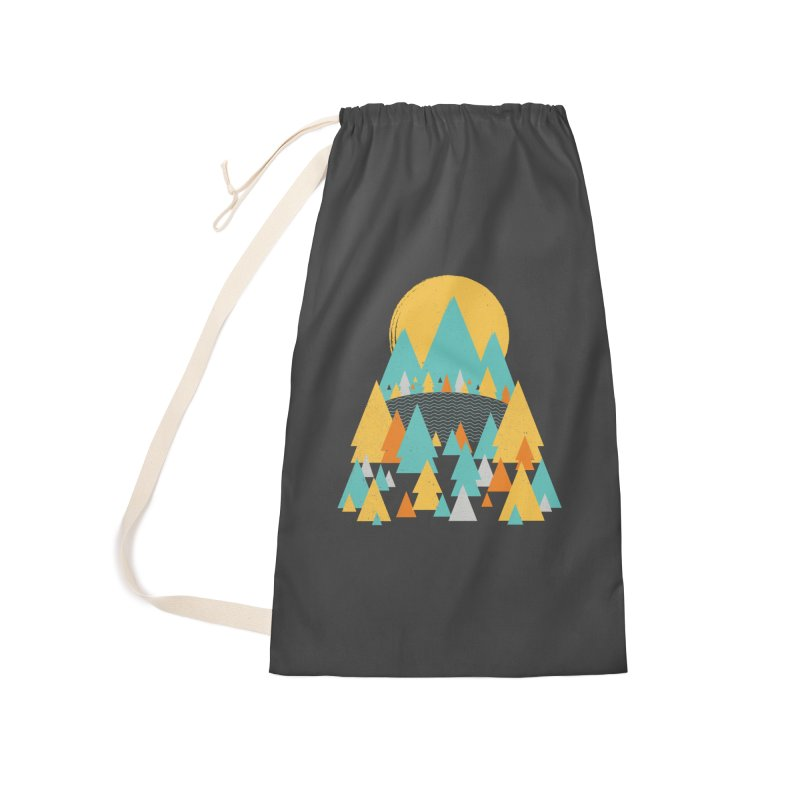 Magicland Accessories Laundry Bag Bag by Rocket Artist Shop