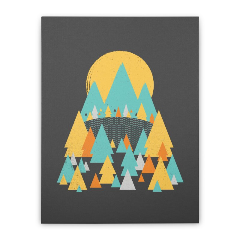 Magicland Home Stretched Canvas by Rocket Artist Shop