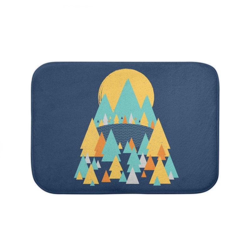 Magicland Home Bath Mat by Rocket Artist Shop
