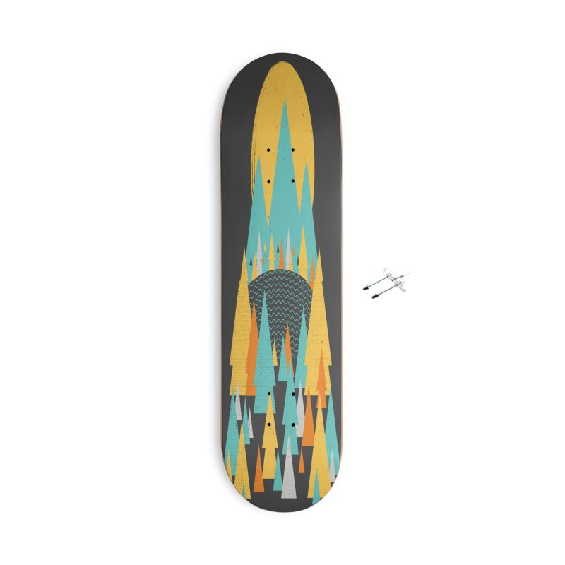 Magicland Accessories With Hanging Hardware Skateboard by Rocket Artist Shop
