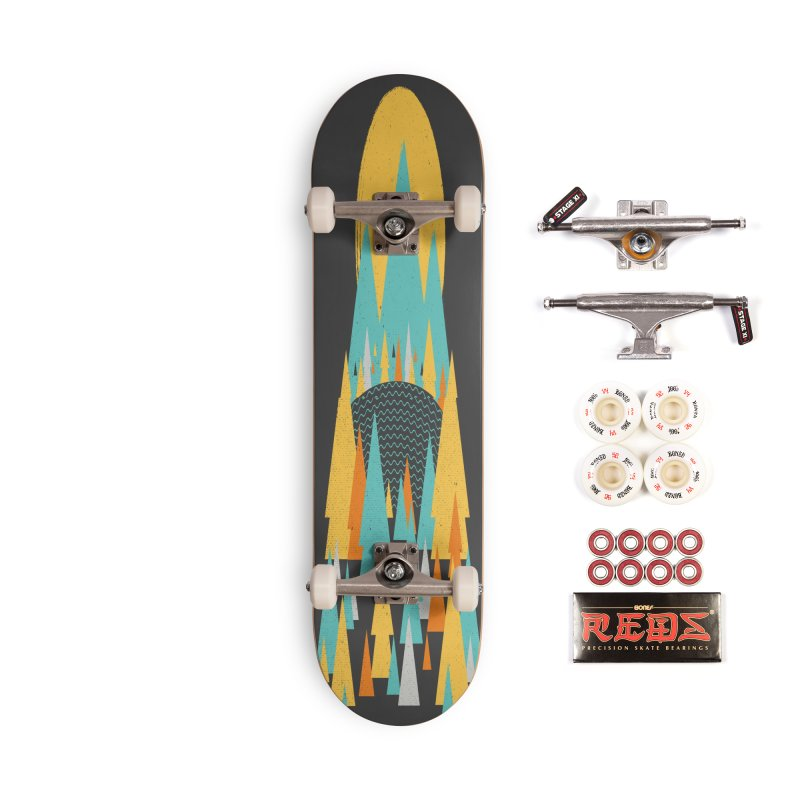 Magicland Accessories Complete - Pro Skateboard by Rocket Artist Shop