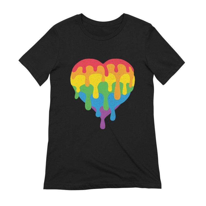 MeltLove Women's Extra Soft T-Shirt by Rocket Artist Shop