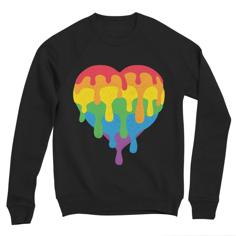 MeltLove Men's Sponge Fleece Sweatshirt by Rocket Artist Shop