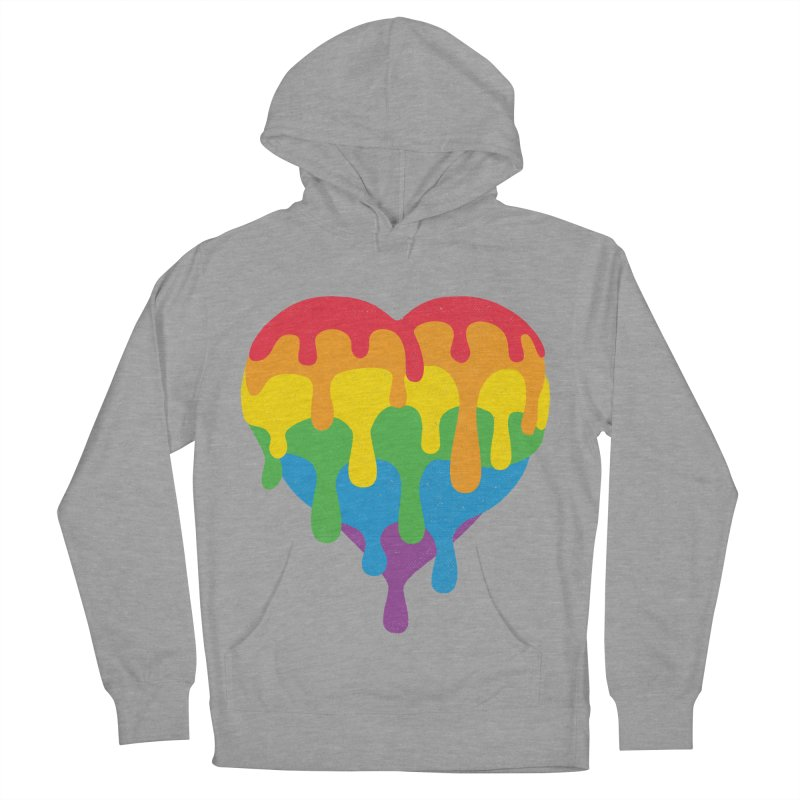 MeltLove Women's French Terry Pullover Hoody by Rocket Artist Shop