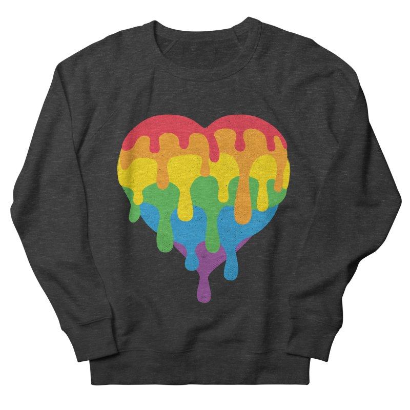 MeltLove Men's French Terry Sweatshirt by Rocket Artist Shop