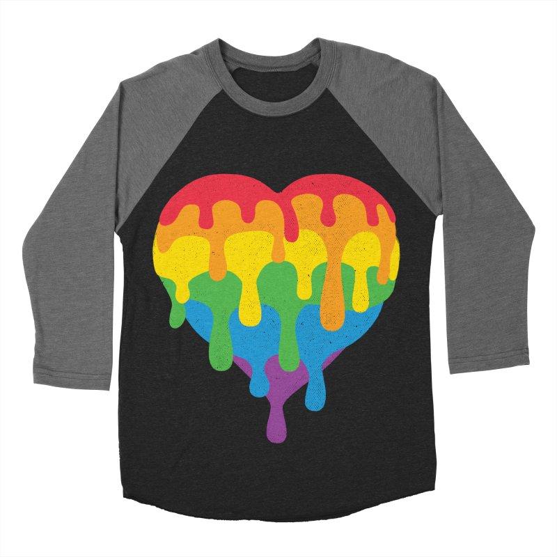 MeltLove Men's Baseball Triblend Longsleeve T-Shirt by Rocket Artist Shop