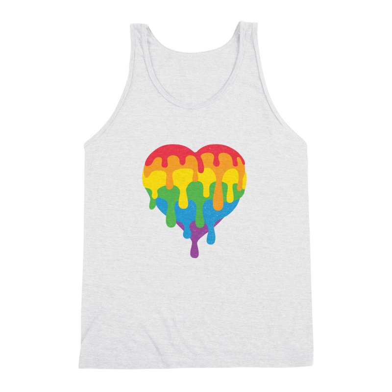 MeltLove Men's Triblend Tank by Rocket Artist Shop
