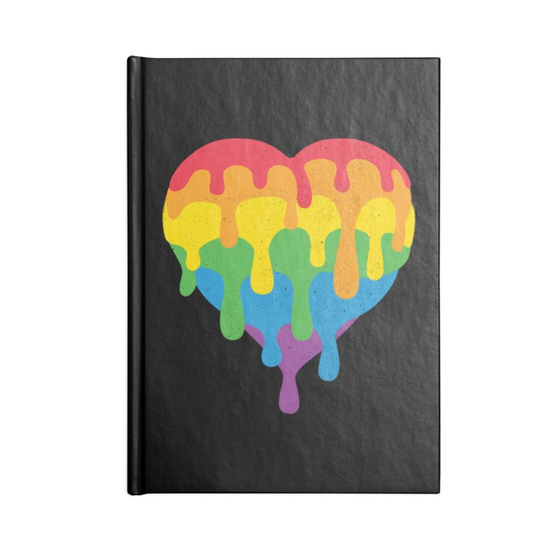 MeltLove Accessories Blank Journal Notebook by Rocket Artist Shop