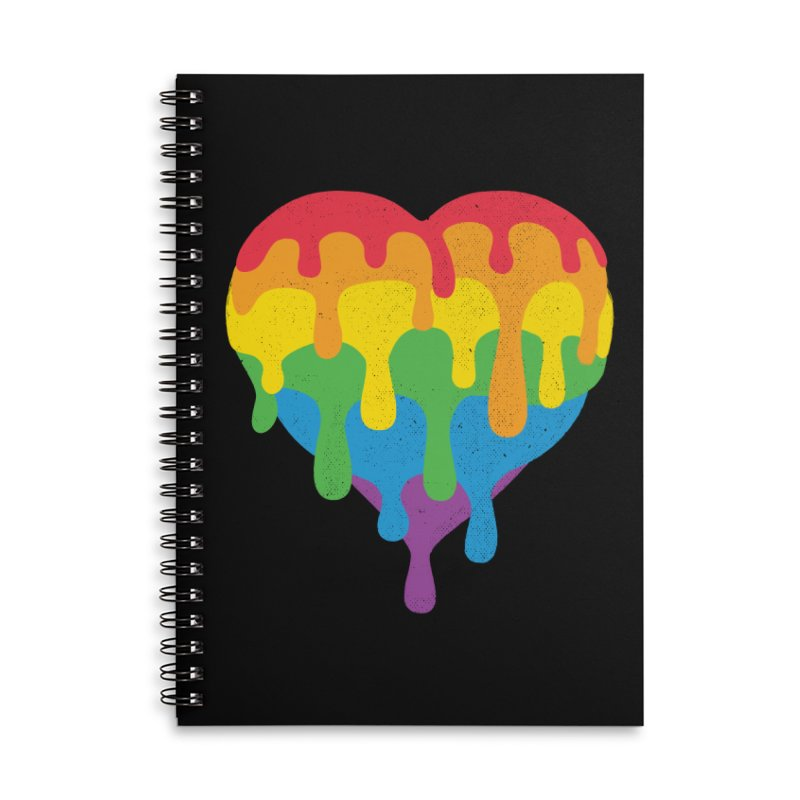 MeltLove Accessories Lined Spiral Notebook by Rocket Artist Shop