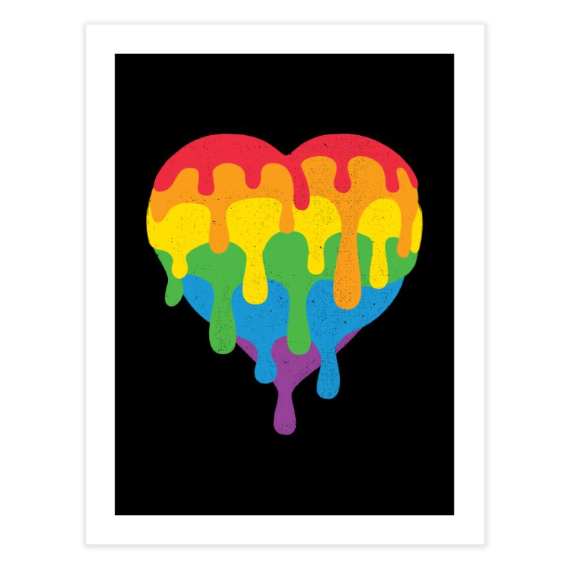 MeltLove Home Fine Art Print by Rocket Artist Shop