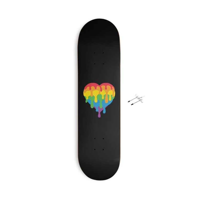 MeltLove Accessories With Hanging Hardware Skateboard by Rocket Artist Shop