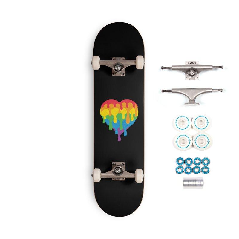 MeltLove Accessories Complete - Basic Skateboard by Rocket Artist Shop