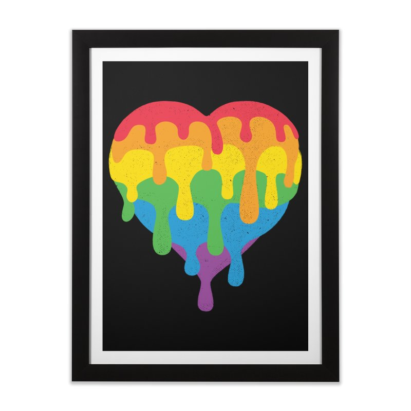 MeltLove Home Framed Fine Art Print by Rocket Artist Shop