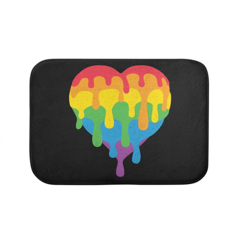 MeltLove Home Bath Mat by Rocket Artist Shop