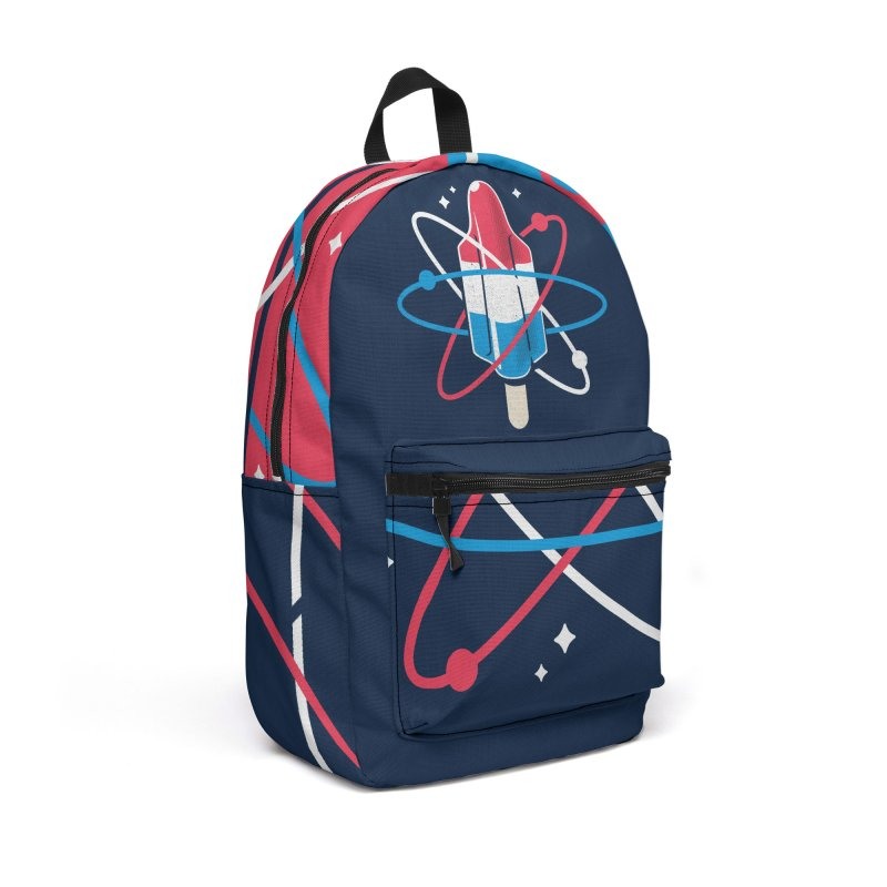 Pop Science Accessories Backpack Bag by Rocket Artist Shop