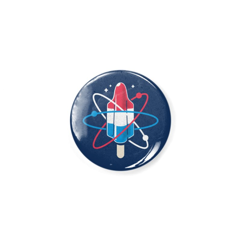 Pop Science Accessories Button by Rocket Artist Shop