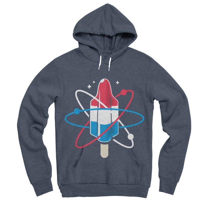 Pop Science Women's Sponge Fleece Pullover Hoody by Rocket Artist Shop