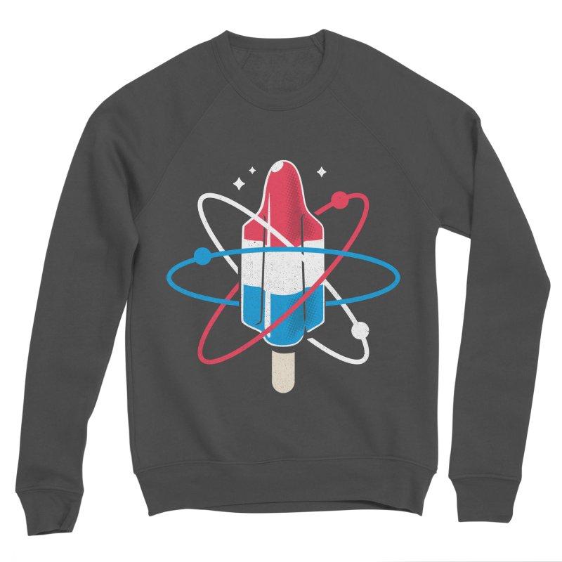 Pop Science Men's Sponge Fleece Sweatshirt by Rocket Artist Shop