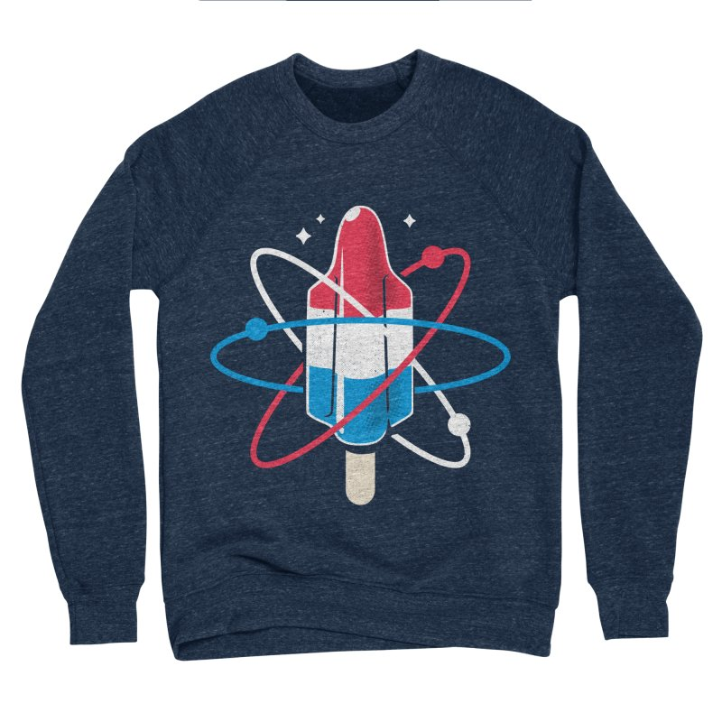 Pop Science Women's Sponge Fleece Sweatshirt by Rocket Artist Shop