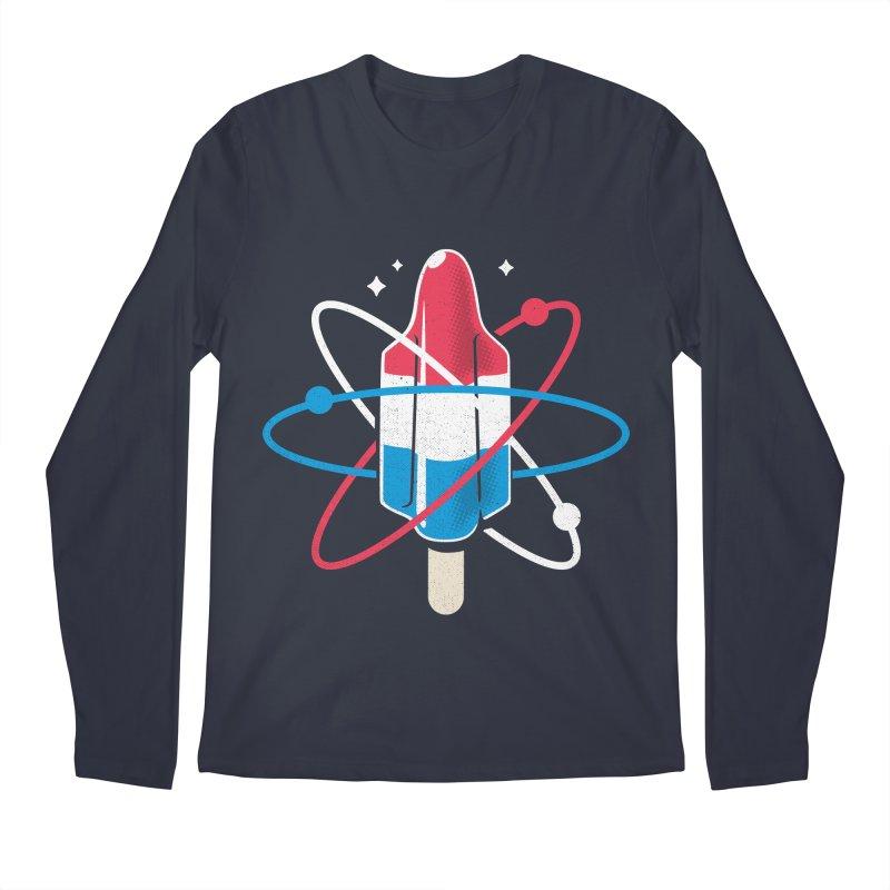Pop Science Men's Longsleeve T-Shirt by Rocket Artist Shop
