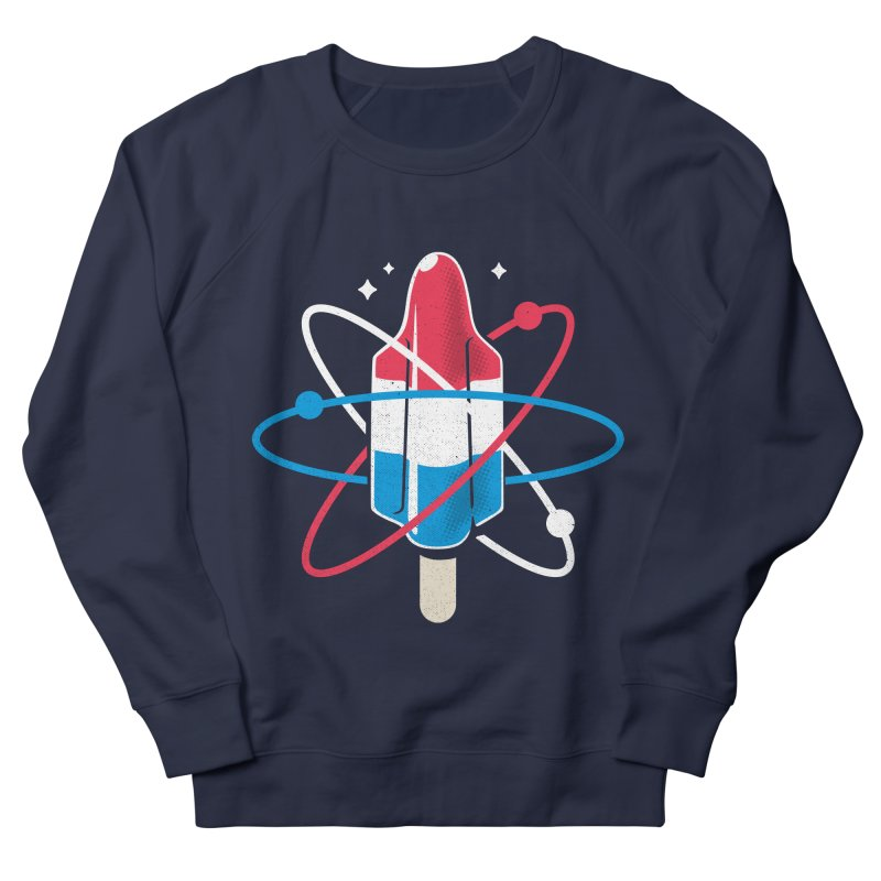 Pop Science Men's French Terry Sweatshirt by Rocket Artist Shop
