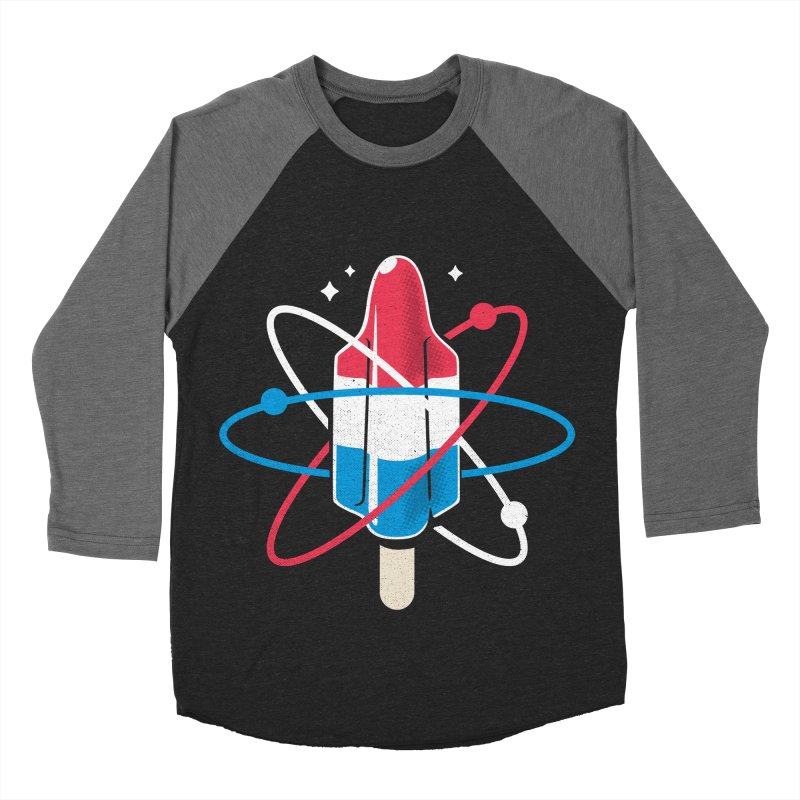 Pop Science Women's Baseball Triblend Longsleeve T-Shirt by Rocket Artist Shop