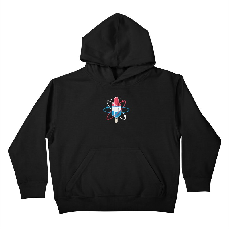 Pop Science Kids Pullover Hoody by Rocket Artist Shop