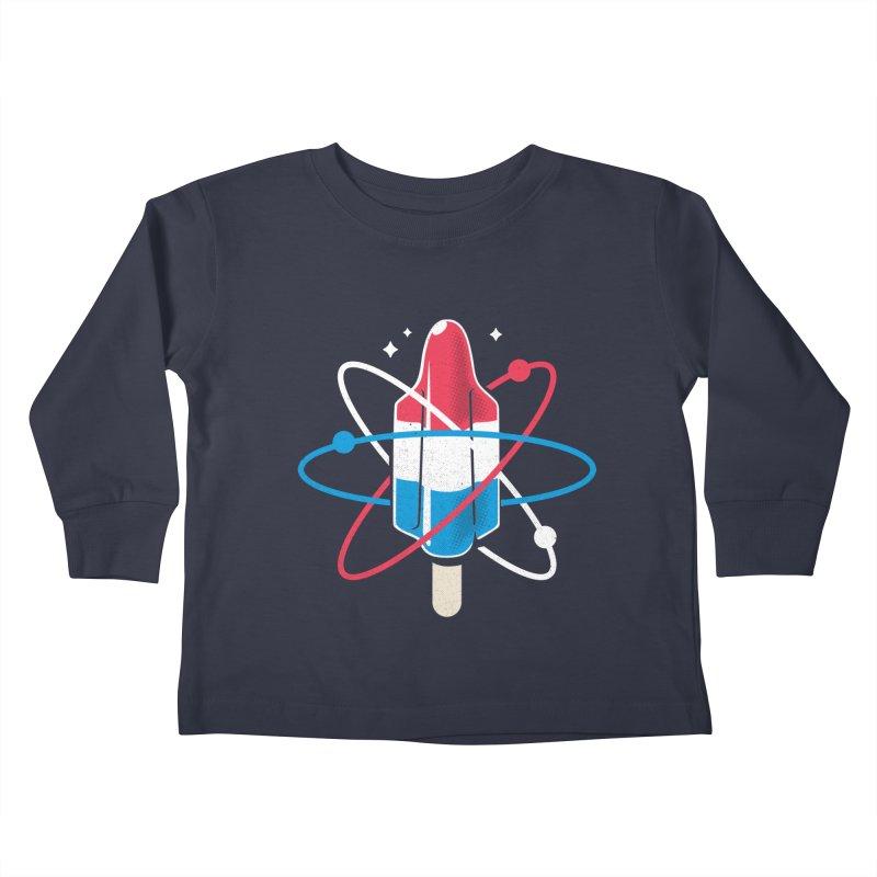 Pop Science Kids Toddler Longsleeve T-Shirt by Rocket Artist Shop