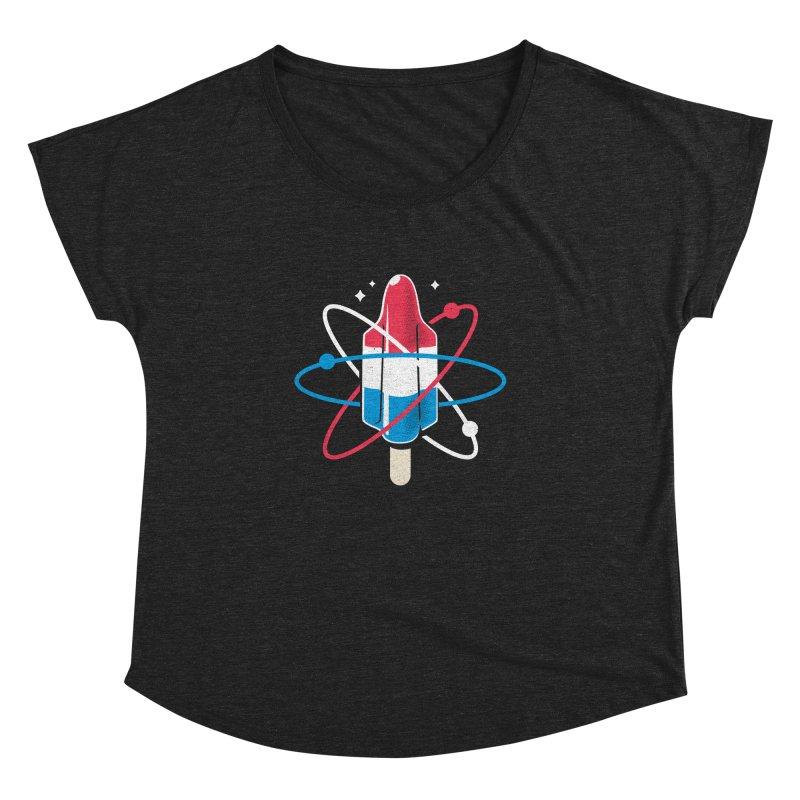Pop Science Women's Dolman Scoop Neck by Rocket Artist Shop