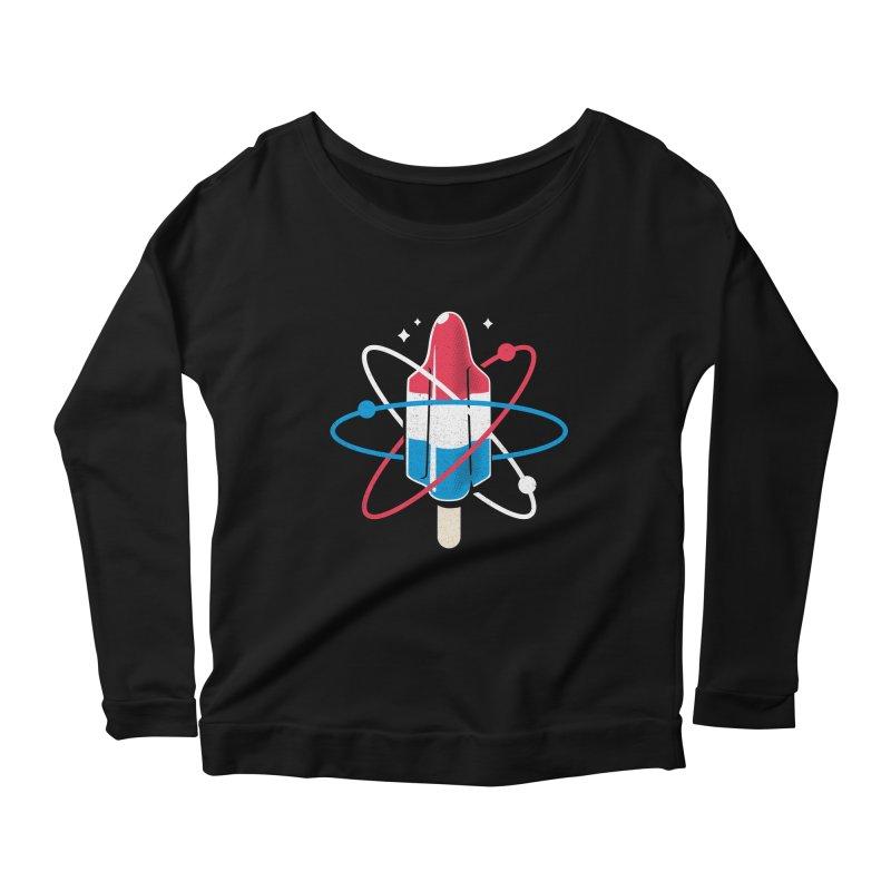 Pop Science Women's Scoop Neck Longsleeve T-Shirt by Rocket Artist Shop