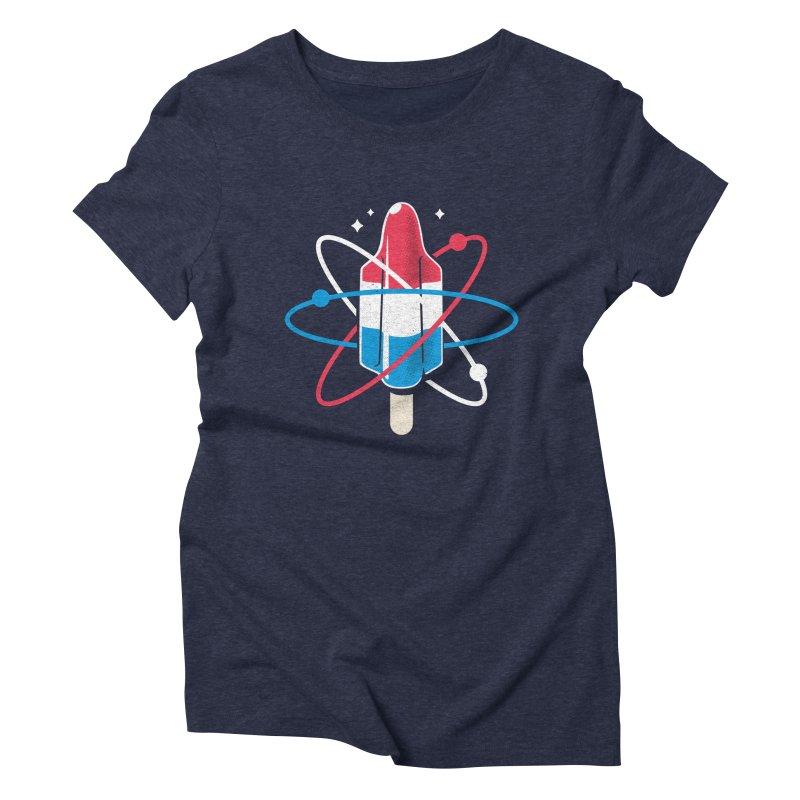 Pop Science Women's Triblend T-Shirt by Rocket Artist Shop
