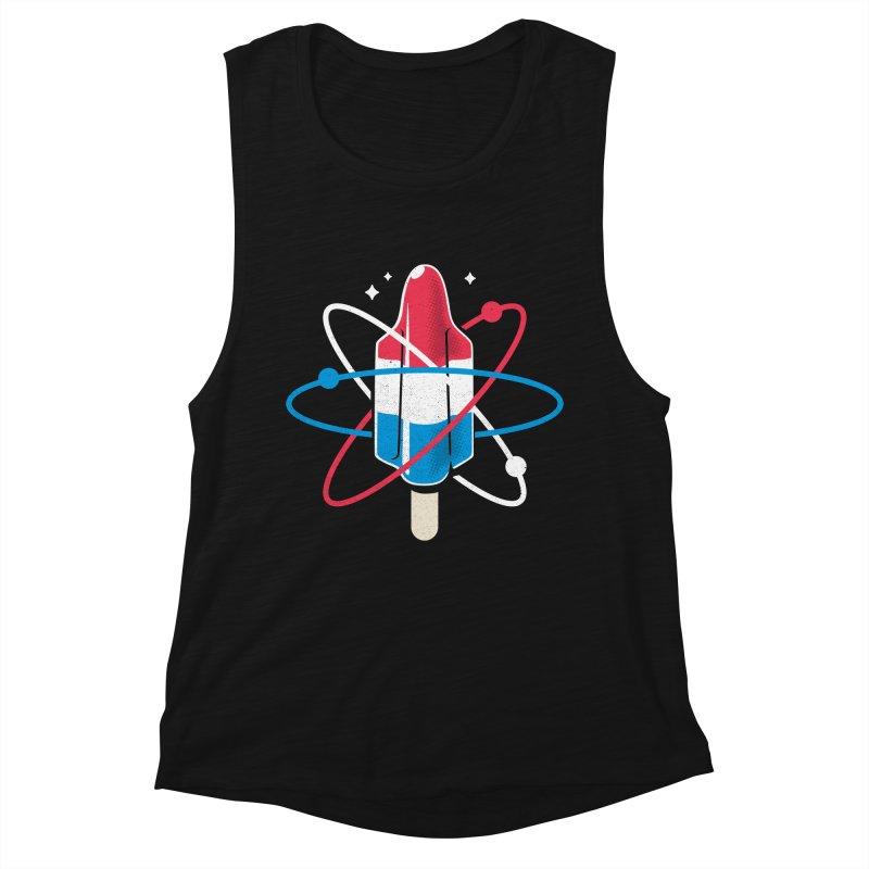 Pop Science Women's Muscle Tank by Rocket Artist Shop