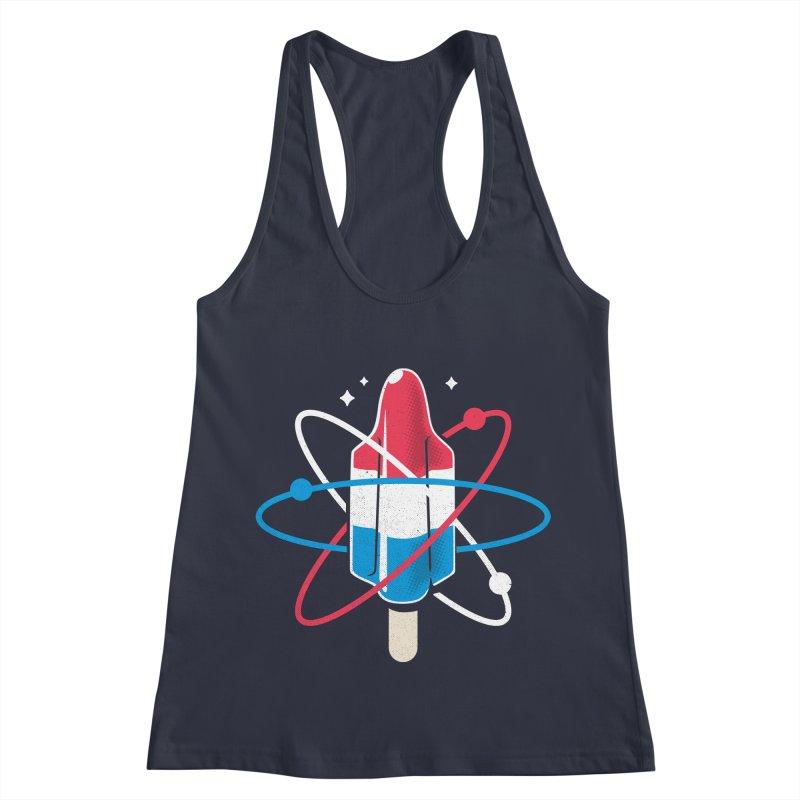 Pop Science Women's Racerback Tank by Rocket Artist Shop