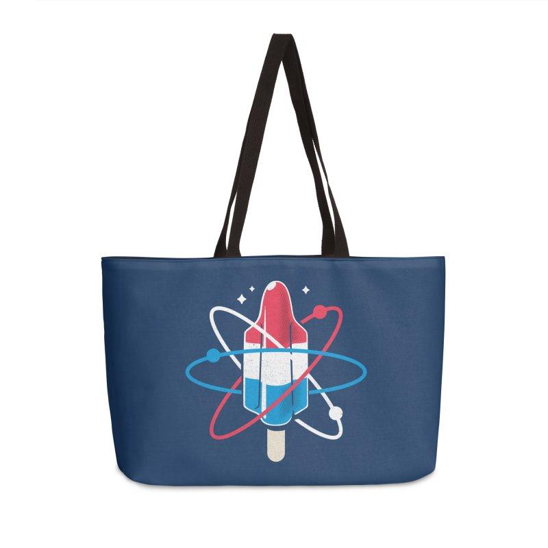 Pop Science Accessories Weekender Bag Bag by Rocket Artist Shop