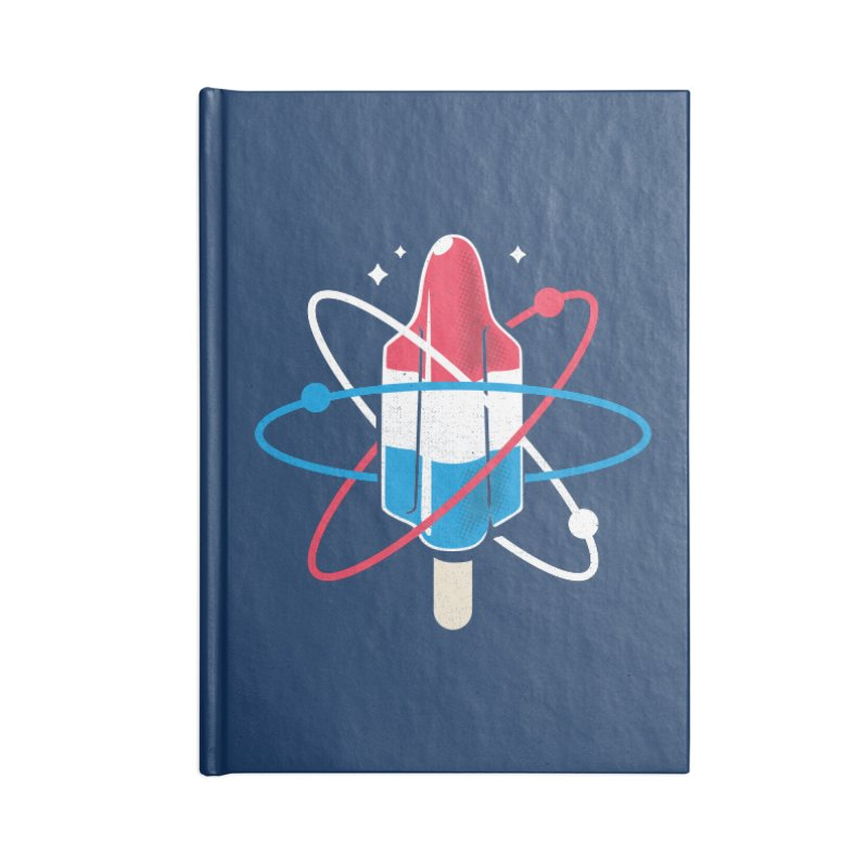 Pop Science Accessories Lined Journal Notebook by Rocket Artist Shop