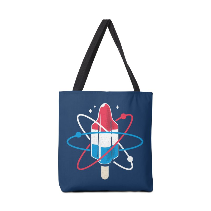 Pop Science Accessories Tote Bag Bag by Rocket Artist Shop
