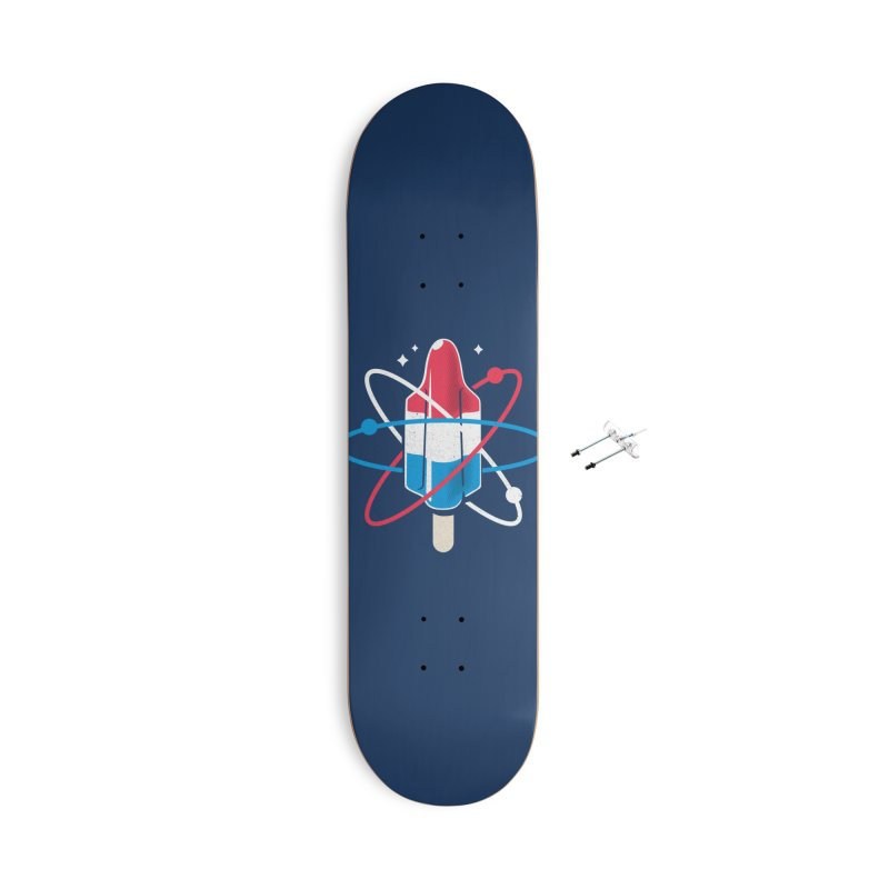 Pop Science Accessories With Hanging Hardware Skateboard by Rocket Artist Shop